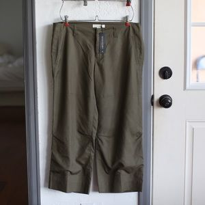 NWT Banana republic green pants